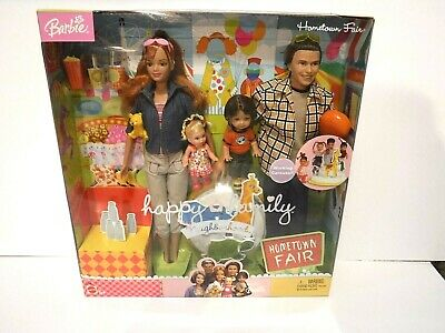 New Happy Family Neighborhood - Hometown Fair - Barbie - 2003 - Mnrfb
