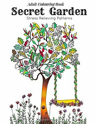 Adult Coloring Book: Secret Garden : Relaxation Templates f... by Coloring, Link