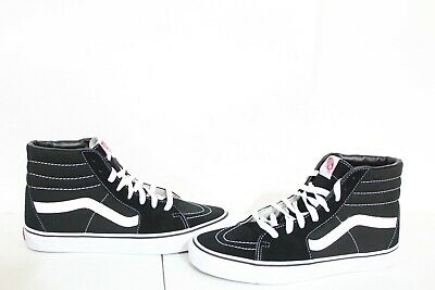 93ab0596206f4 J-1012 VANS Sk8-Hi Slim Core Classics Skate Shoes Black/White ...