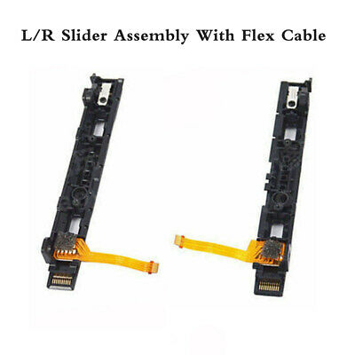 For Nintendo Switch Controller Joy-Con L/R Slider Assembly w/Flex Cable Parts GG