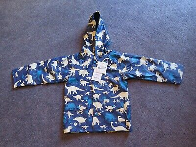 Hatley Boys Size 6 Dinosaur Silhouette Raincoat New