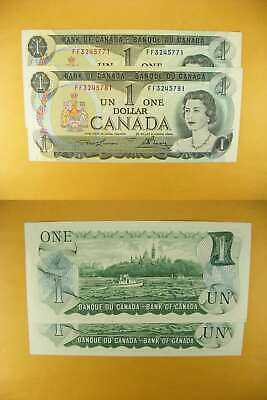 3346 Canada Lot of 2 1973 $1 GemUNC