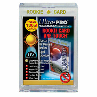 "Ultra Pro - UV ""Rookie"" One-Touch Magnetic Closure 130pt Specialty Card Holder"