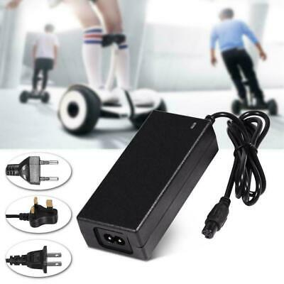 42V 2A Power Adapter Battery Charger for Electric Scooter Balance Hoverboard UK