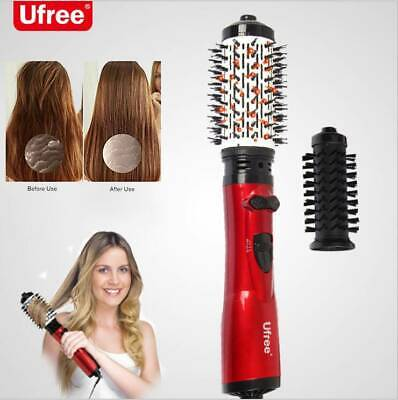 Salon Curling One-Step Hair Dryer and Volumizer Brush Iron Comb Oval AU