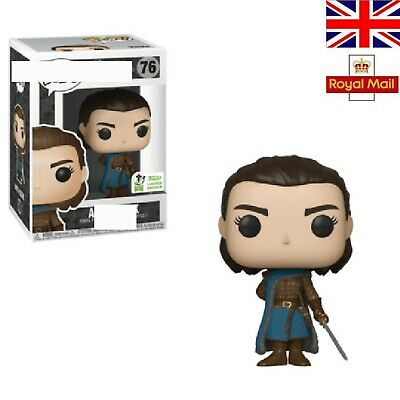 Funko Pop! Arya Stark #76 Game Of Thrones Action Figure Box Toys Limited Edition