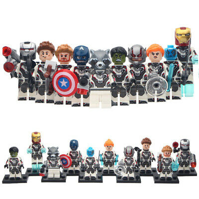Avengers End Game Minifigure Iron Man Hawkeye Hulk For Custom Lego Minifigures
