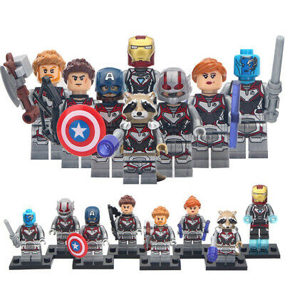 Avengers End Game Minifigure Black Widow Nebula Thor For Custom Lego Minifigures