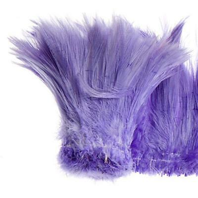 "Coque Hackle 4"" - 6"" Lila"