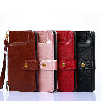 For Nokia 5 6 7 8 X6 X5 Flip Case Wallet Stand Protect Cover Zipper Purse Bag