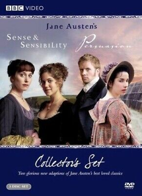 Sense And Sensibility/Persuasion Col [New DVD] 3 Pack, Amaray Case, Repackaged