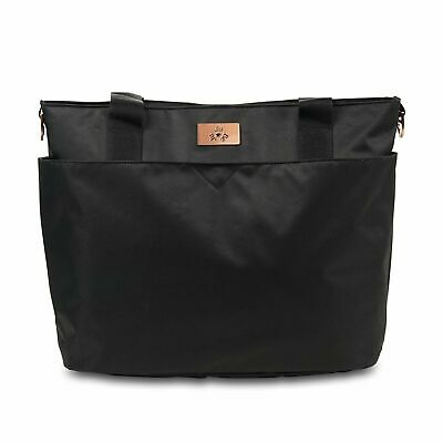 JuJuBe Limited Edition Encore Diaper Tote Bag - Black Rose FREE SHIPPING