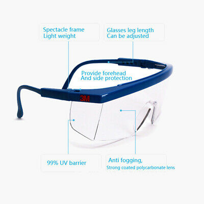Anti-impact Lab Factory Safety Glasses Outdoor Work Eye Protective Goggles Hot