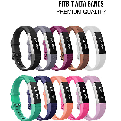 Band Replacement Wrist Silicone Bands Watch Small Large For Fitbit Alta HR Ace