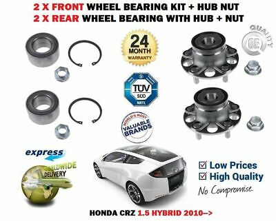 2x Wheel Hub Front for RENAULT CLIO 1.2 1.5 2.0 00-on dCi D4F F4R K9K Febi