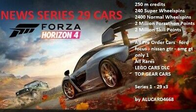 Forza Horizon 4 Modded account save Series season 1 - 19 ULTIMATE SAVE  x3