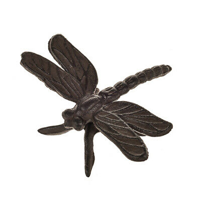 Cast Iron Dragonfly Wall Fence Garden Decoration Ornament