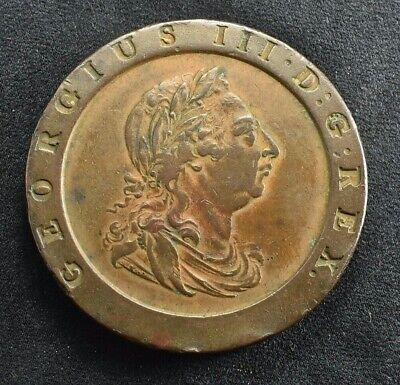 George III 1797 Copper Cartwheel Two Penny Coin
