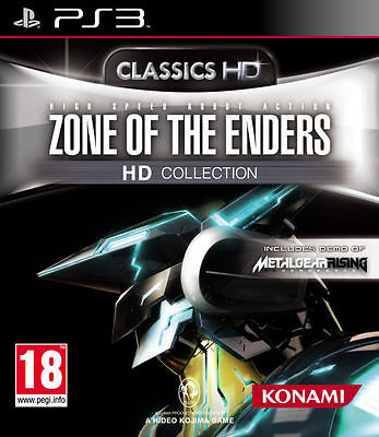 Gioco Playstation Ps 3 Games Robot Mech-Zone Of The Enders Hd Collection Zoe 1,2
