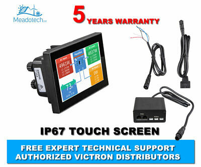 Victron Energy CANvu IP67 Remote Monitoring Touch Panel Kit FREE EU Delivery