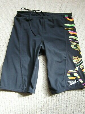 Speedo Men's Long Swimming Trunks size 30in Waist Excellent Condition