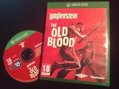🎗 Wolfenstein - the Old Blood Xbox ONE Game. Prequel to the New Order.