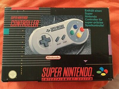 Original Super Nintendo Controller/GamePad  / PAL / SNES  in OVP GUT