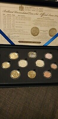 Malta Uncirculated Euro Set 2014