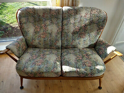 Ercol Evergreen Golden Dawn Two Seater Sofa with Cushions