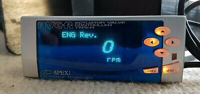 Apexi Avcr Avc-R Electronic Boost Controller Ebc Silver S-Avc2 020