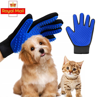 Pet Hair Glove Comb Pet Dog Cat Grooming Cleaning Glove Deshedding Left Right