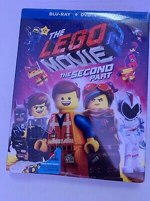 The Lego Movie 2 The Second Part (BluRay + DVD)