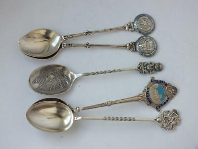 5 Various Solid Silver Spoons/ 56 g