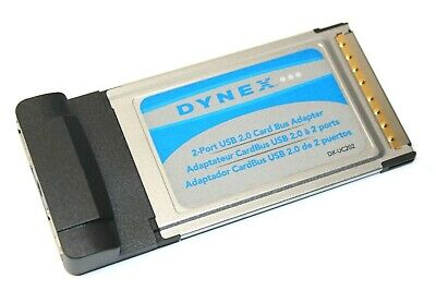 DYNEX PCMCIA USB DRIVERS FOR WINDOWS VISTA