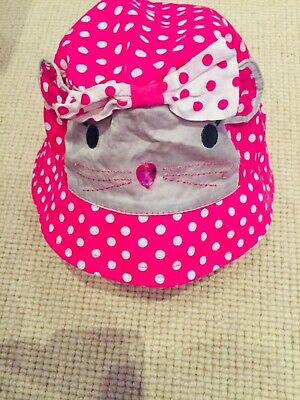 Girls Gorgeous Accessorize Angels Sunhat with mouse design