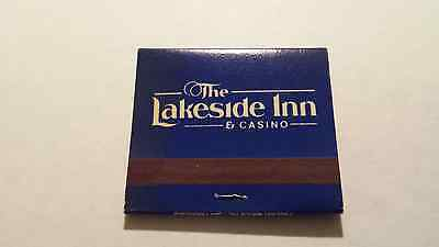 New And Vintage Lakeside Inn Casino Matchbook Matches South Lake Tahoe Nevada
