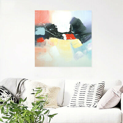 Genuine Hand-painted Modern Wall Art Abstract Oil Painting On Canvas With Frame