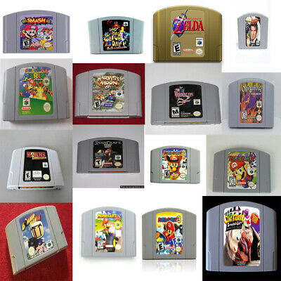 New Top 16 best Nintendo 64 N64 Games of All Times like ZELDA and More