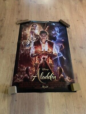 "Disney's ALADDIN 2019 Original DS 2 Sided 27x40"" US Movie Poster Will Smith"