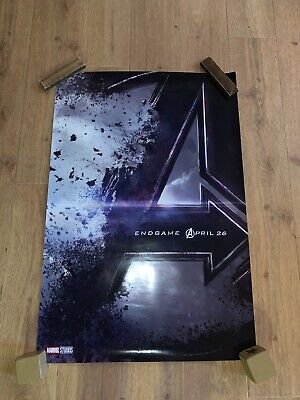 AVENGERS ENDGAME MOVIE POSTER 2 Sided ORIGINAL INTL Advance 27x40 Teaser Poster