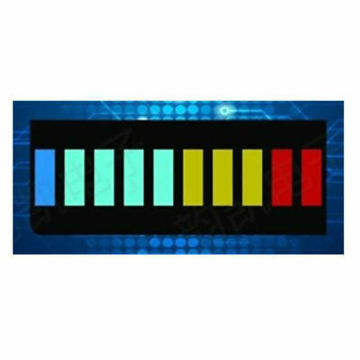 2x 10 Segment Color LED BAR Graph Indicator DIP 1*Blue 4*Green 3*Yellow 2*R E3W3