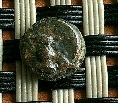 """Ephesos, Ionia 350 Bc Ae8 """"Bee & Head And Neck Of Stag"""" Ancient Greek Coin"""