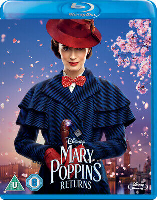 Mary Poppins Returns Blu-ray (2019) Emily Blunt