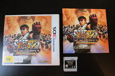 Super Street Fighter IV 3D Edition (Nintendo 3DS) - WITH WARRANTY 4