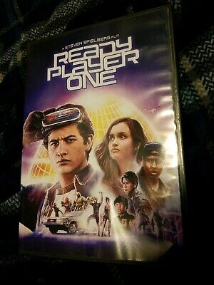 Ready Player One DVD 2018  Steven Spielberg