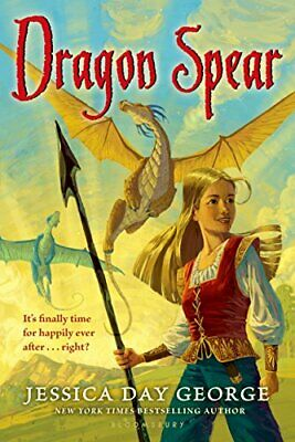 Dragon Spear (Dragon Slippers) by George, Jessica Day Book The Cheap Fast Free