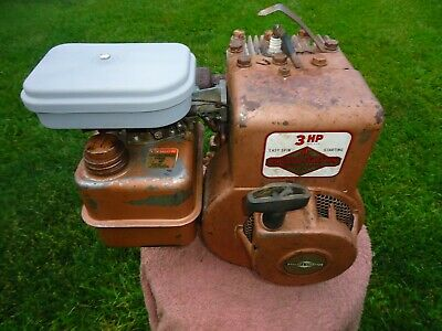 Vintage 1971 / 3 HP Briggs & Stratton Engine / Model 80202 / Mini Bike / Go Kart