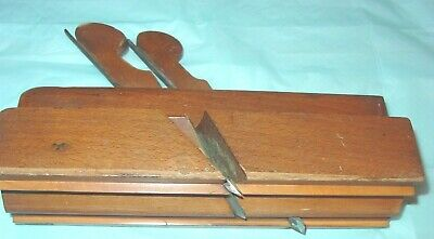 Wooden Molding Plane: Bailey; Twin Iron Complex; Rare Plane.  Wide. 1851