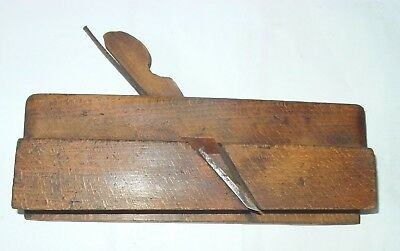 """Wooden Molding Plane: Roman Reverse Ogee With Fence; 1 1/2"""" W."""