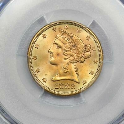 1882-S $5 Liberty Gold Eagle PCGS MS65 *Tougher Date*